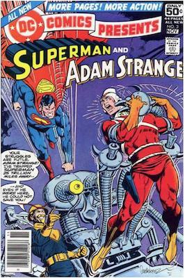 DC Comics Presents #3. Click for values.