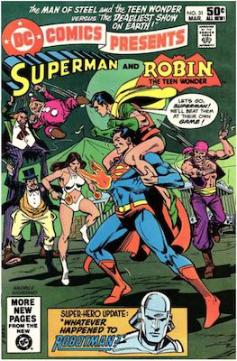 DC Comics Presents #31. Click for values.