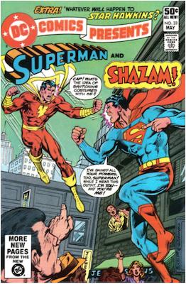 DC Comics Presents #33. Click for values.