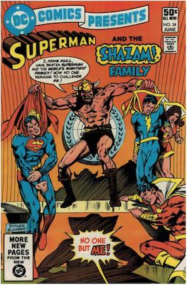 DC Comics Presents #34. Click for values.