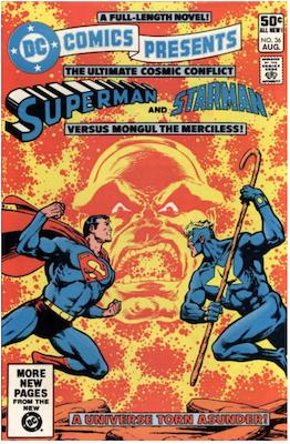 DC Comics Presents #36. Click for values.