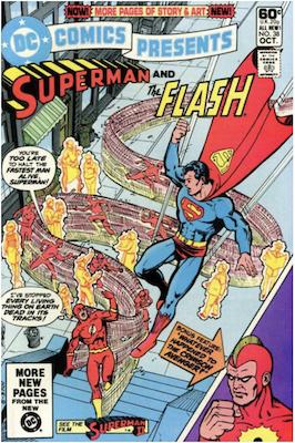 DC Comics Presents #38. Click for values.