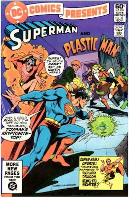 DC Comics Presents #39. Click for values.