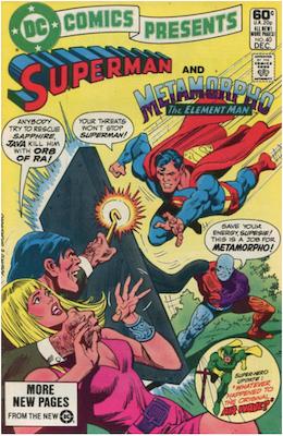 DC Comics Presents #40. Click for values.