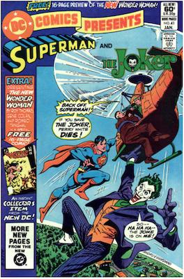 DC Comics Presents #41. Click for values.