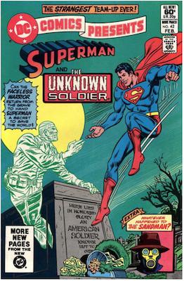 DC Comics Presents #42. Click for values.