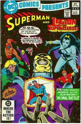 DC Comics Presents #43. Click for values.