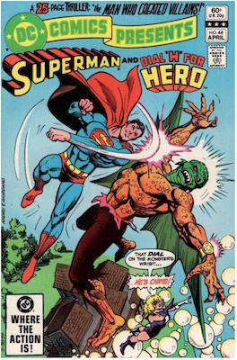 DC Comics Presents #44. Click for values.