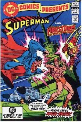 DC Comics Presents #45. Click for values.