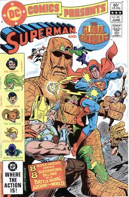DC Comics Presents #46. Click for values.