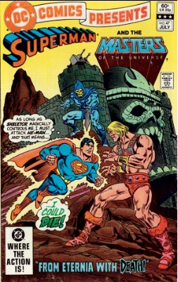 DC Comics presents #47 (1982): 1st Appearance of He-Man and the Masters of the Universe in comics. Click for values