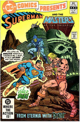 DC Comics Presents #47: 1st He-Man and Masters of the Universe in Comics. Click for values