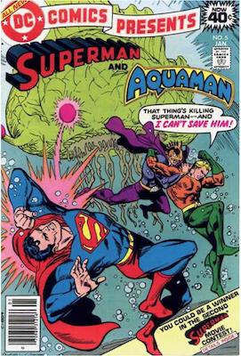 DC Comics Presents #5. Click for values.