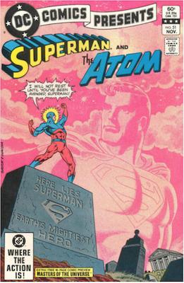 DC Comics Presents #51. Click for values.