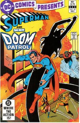 DC Comics Presents #52. Click for values.