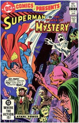 DC Comics Presents #53. Click for values.
