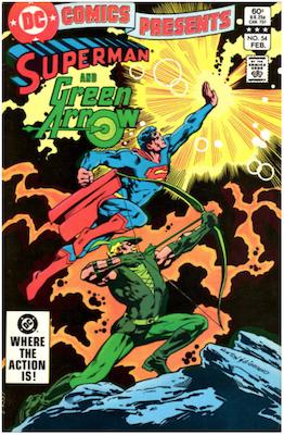 DC Comics Presents #54. Click for values.