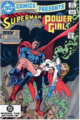 DC Comics Presents #56. Click for values.