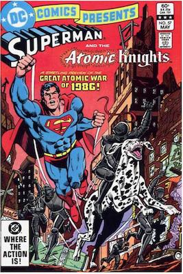 DC Comics Presents #57. Click for values.