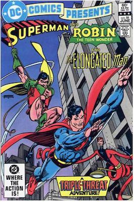 DC Comics Presents #58. Click for values.
