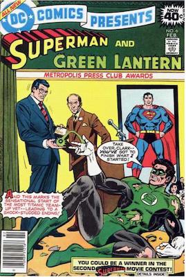 DC Comics Presents #6. Click for values.