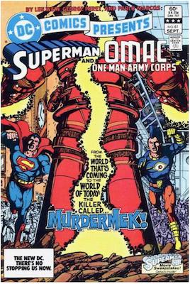 DC Comics Presents #61. Click for values.