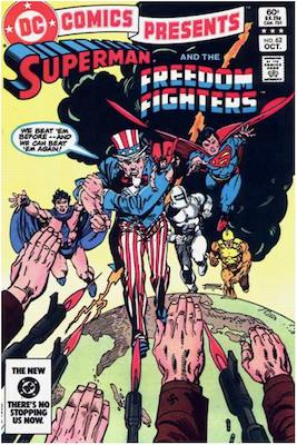 DC Comics Presents #62. Click for values.