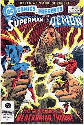DC Comics Presents #66. Click for values.