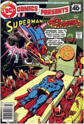 DC Comics Presents #7. Click for values.