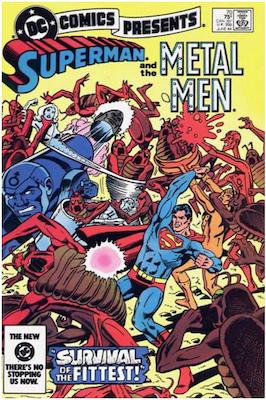 DC Comics Presents #70. Click for values.