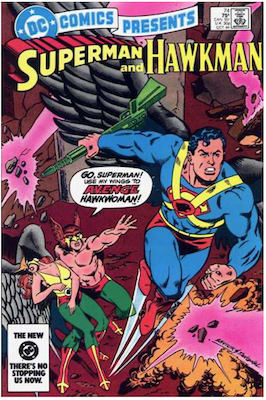 DC Comics Presents #74. Click for values.
