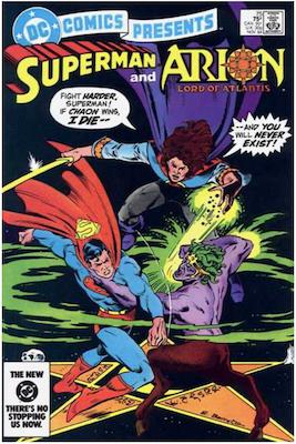 DC Comics Presents #75. Click for values.