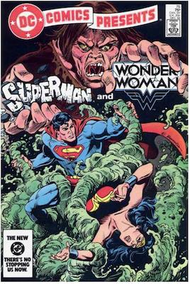 DC Comics Presents #76. Click for values.