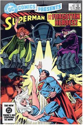 DC Comics Presents #77. Click for values.