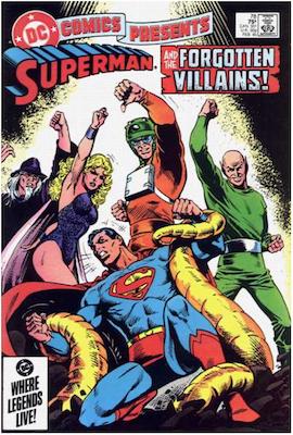 DC Comics Presents #78. Click for values.