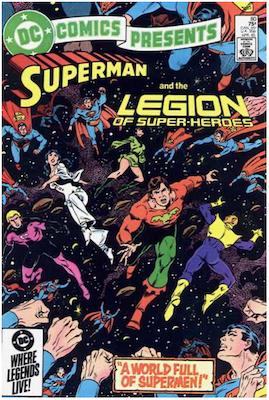 DC Comics Presents #80. Click for values.