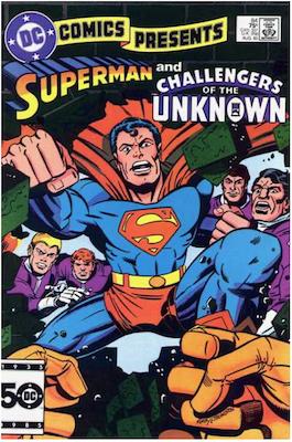 DC Comics Presents #84. Click for values.