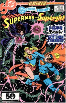 DC Comics Presents #86. Click for values.