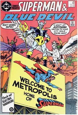 DC Comics Presents #96. Click for values.