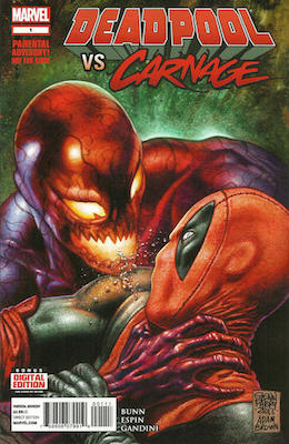 Deadpool vs Carnage (2014) #1. Click for values