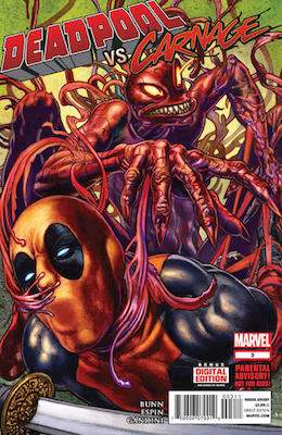 Deadpool vs Carnage #3. Click for values