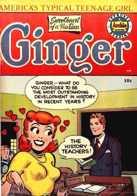 Ginger #1 (1951). Click for values