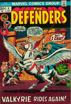 Defenders #4, Valkrye Joins the Team. Click for values