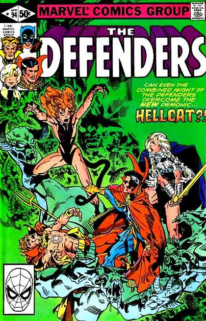 Origin and First Appearance, Gargoyle, Defenders #94, Marvel Comics, 1981. Click for value