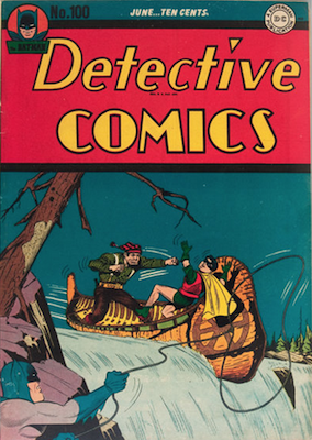 Detective Comics 100. Click for current values.
