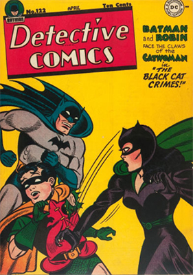 Detective Comics #122: First Catwoman Comic Book Cover. Click for values