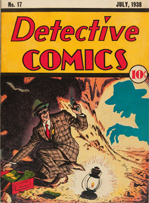 Detective Comics #17. Smuggler themed cover. Rare in any condition. Click for value