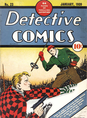 Detective Comics #23, a northern Canadian feel to the cover. Click for value