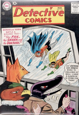Origin and First Appearance, Terrible Trio, Detective Comics #253, DC Comics, 1958. Click for value
