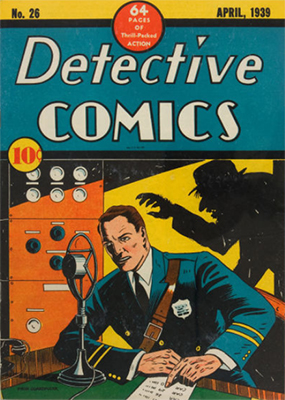 Detective #26 has another of those dark, creepy covers the title occasionally throws in. Click for value